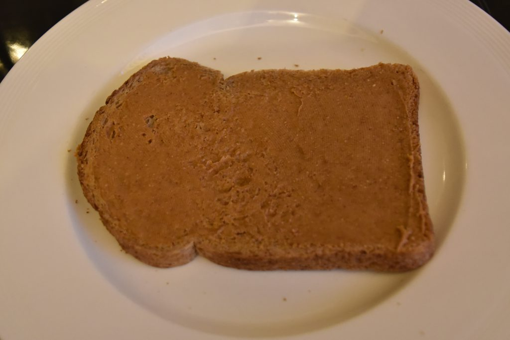 Boterham met pindakaas